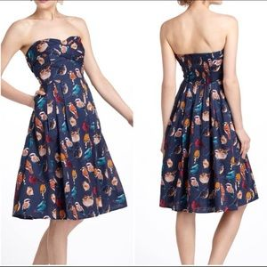 🌈Maeve Native Bird Dress size 4 EUC